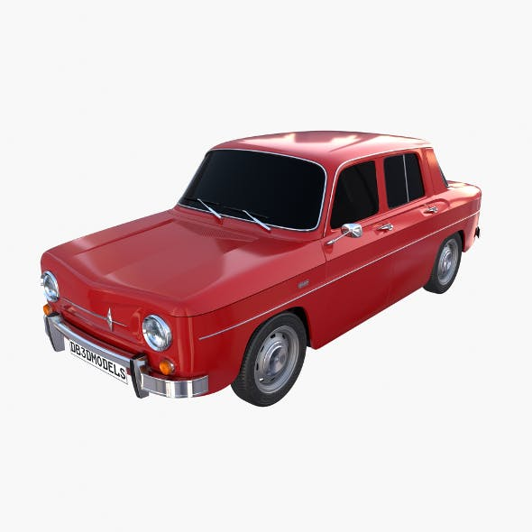 Renault 8 Red