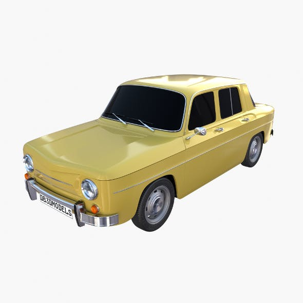 Generic 60s European Car - 3DOcean Item for Sale