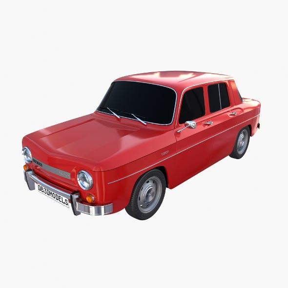 Dacia 1100 Red - 3DOcean Item for Sale