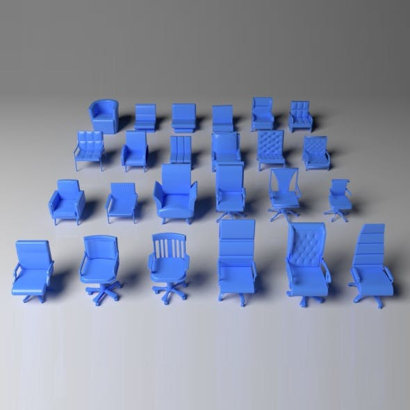 Armchair Pack - 24 Pieces
