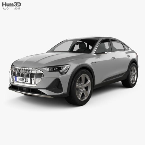 Audi e-tron sportback S-line coupe 2020