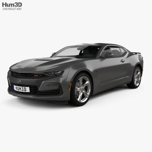 Chevrolet Camaro SS 2020 - 3DOcean Item for Sale