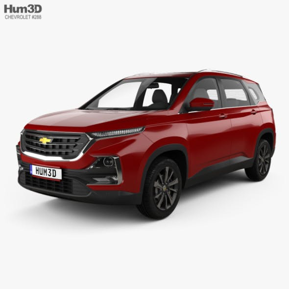 Chevrolet Captiva TH-spec 2019 - 3DOcean Item for Sale