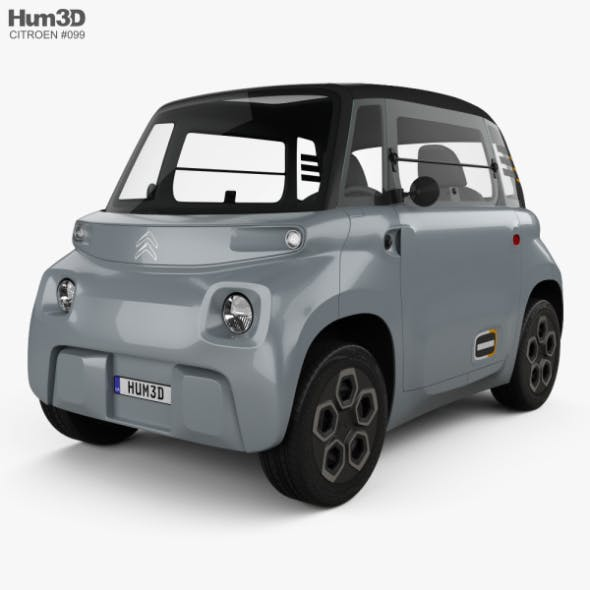 Citroen Ami 2021 - 3DOcean Item for Sale