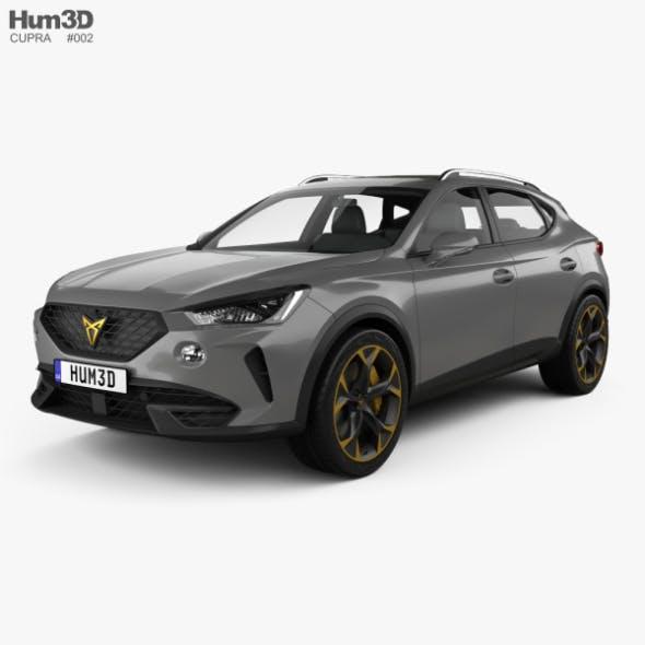Cupra Formentor 2021 - 3DOcean Item for Sale