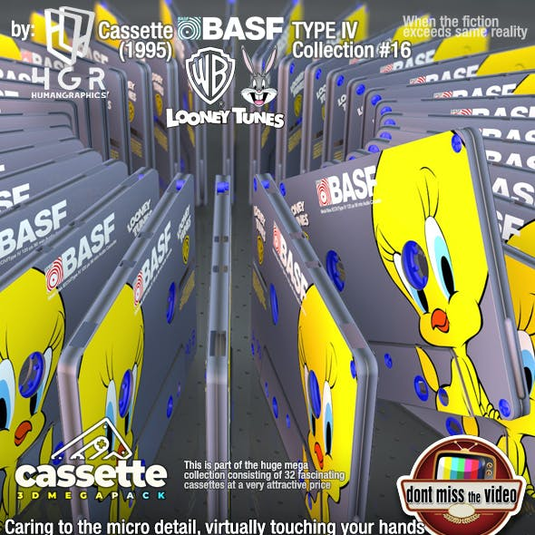 Cassette BASF WB Looney Tunes Tweety Bird (1995) collection #16