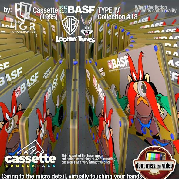 Cassette BASF WB Looney Tunes Yosemite Sam (1995) collection #18