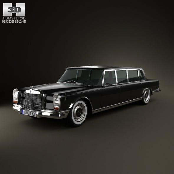Mercedes-Benz 600 W100 Pullman 1964 - 3DOcean Item for Sale