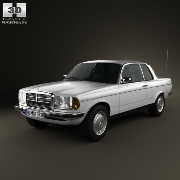 Mercedes-Benz E-Class W123 coupe 1975 - 3DOcean Item for Sale