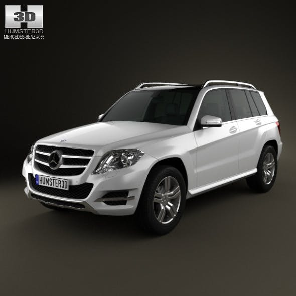Mercedes-Benz GLK-Class X204 2013 - 3DOcean Item for Sale