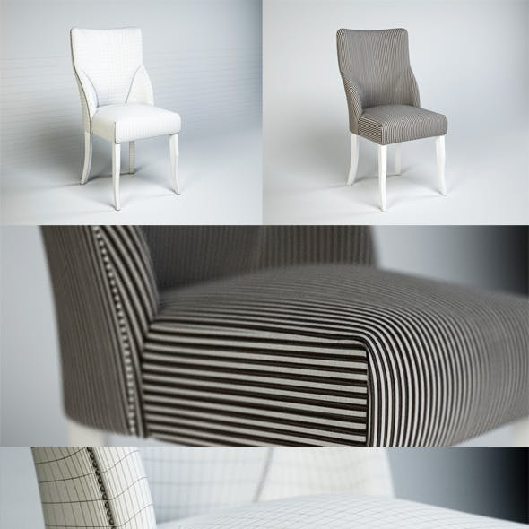 Quality 3dmodel of chair Pietro costantini