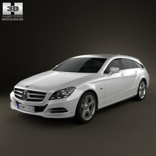 Mercedes-Benz CLS-Class X218 Shooting Brake  - 3DOcean Item for Sale