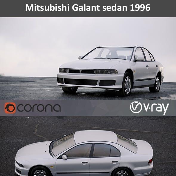 Mitsubishi Galant sedan 1996