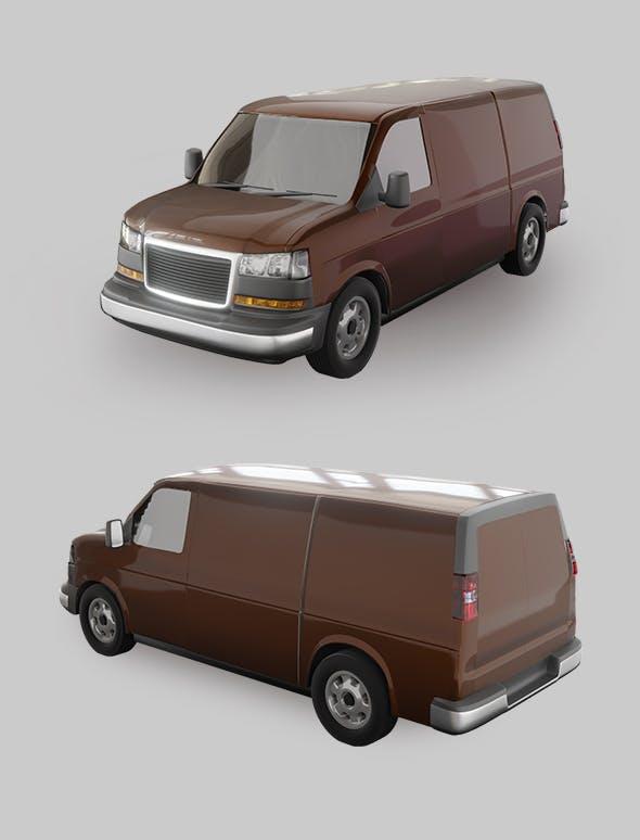 Travel Van Car. - 3DOcean Item for Sale