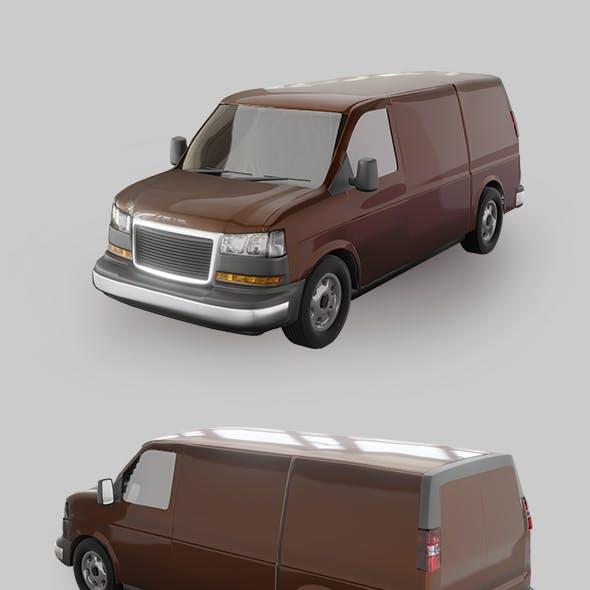 Travel Van Car.