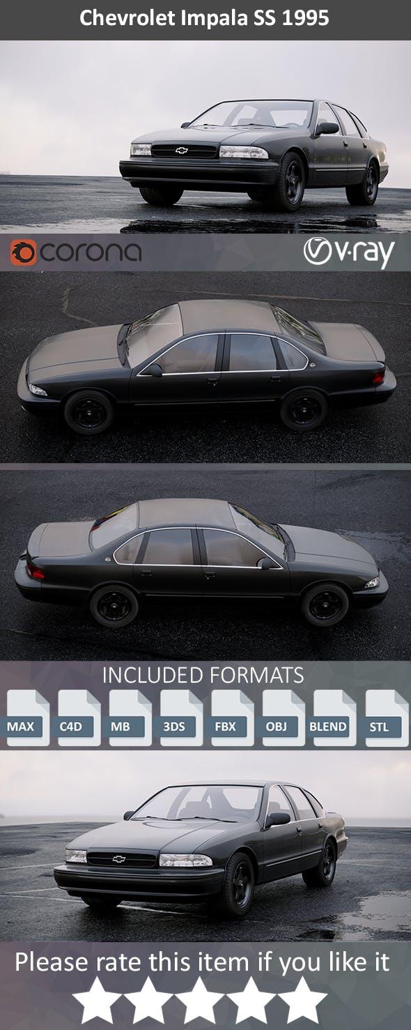 Chevrolet Impala SS 1995 - 3DOcean Item for Sale