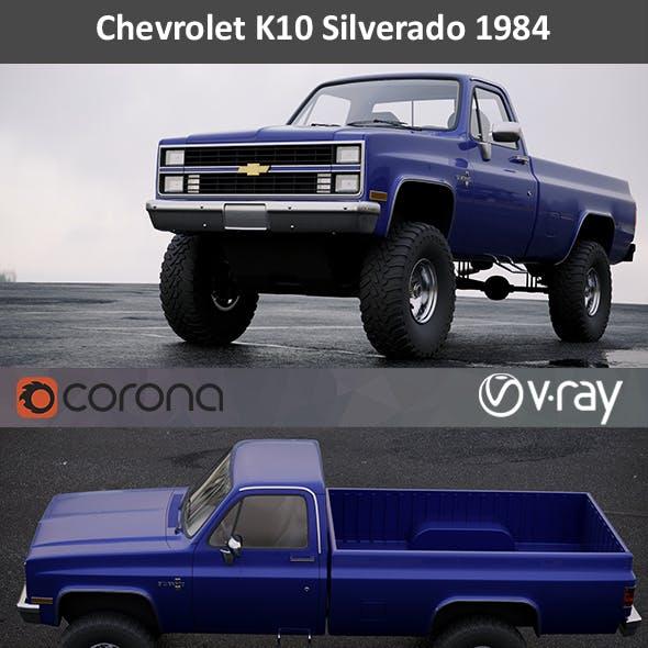 Chevrolet K10 Silverado 1984