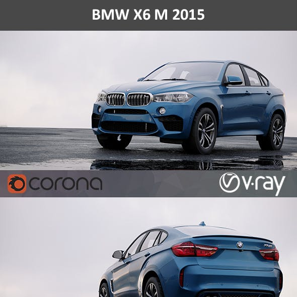 BMW X6M F86 2015