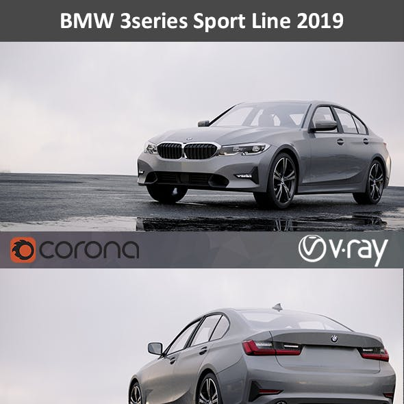 BMW 3series Sport Line 2019