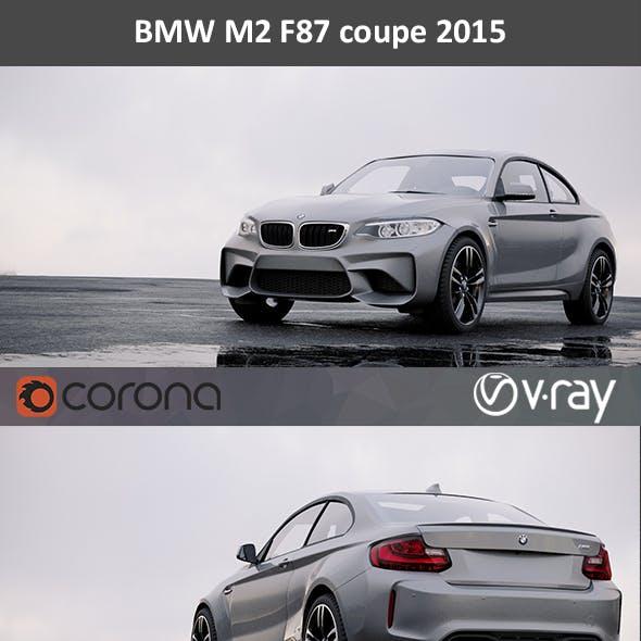 BMW M2 Detailed interior 2015