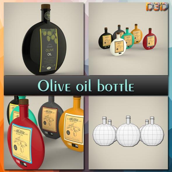 Olive oil bottle - 3DOcean Item for Sale