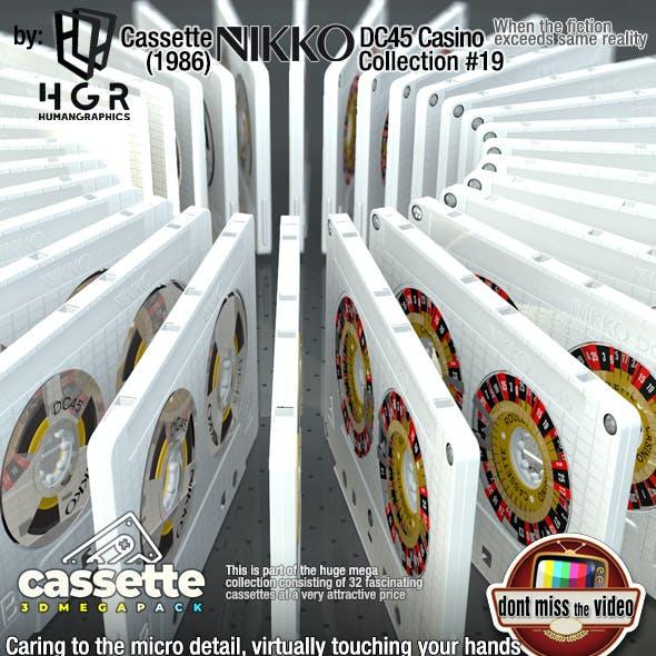 Cassette Roulette Casino Nikko DC45 (1986) collection #19