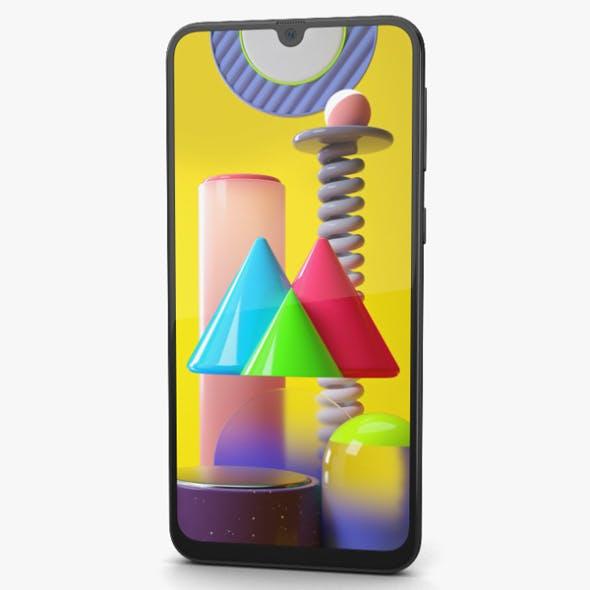 Samsung Galaxy M31 Space Black - 3DOcean Item for Sale