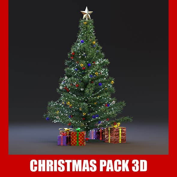 Realistic Christmas Tree Pack