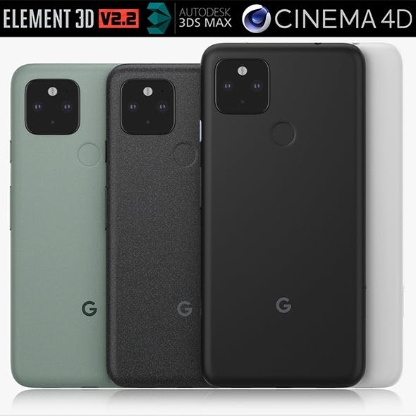 Google Pixel 5 and 4a 5G all colors