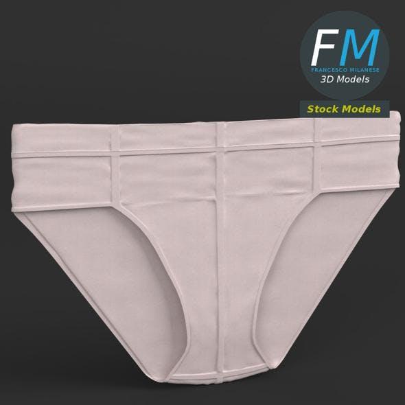 Flat briefs underwear