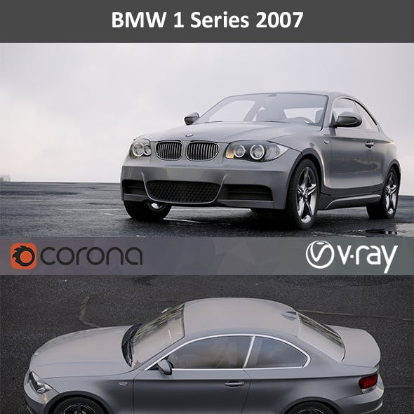 BMW 1 Series coupe 2007
