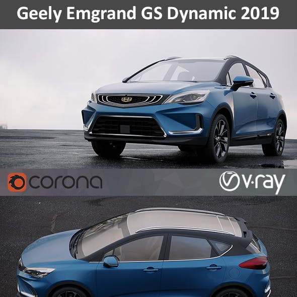 Geely Emgrand GS Dynamic 2019
