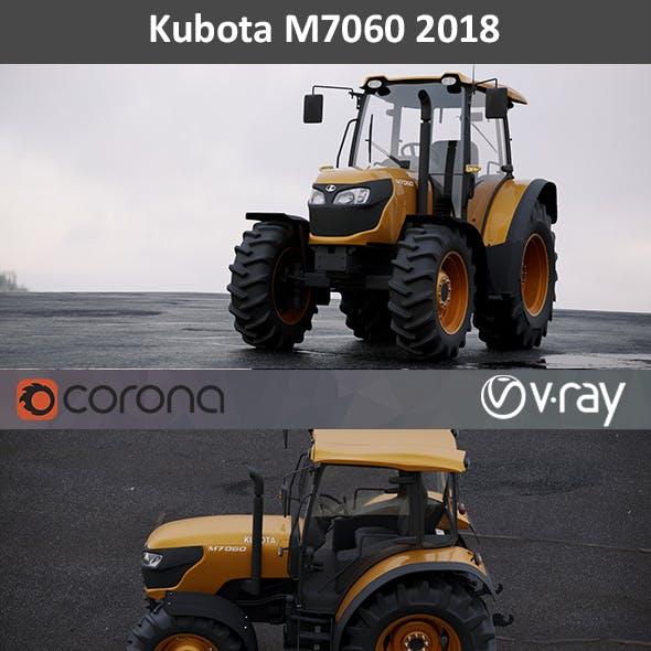 Kubota M7060 2018