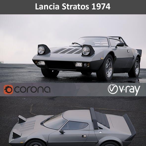 Lancia Stratos 1974