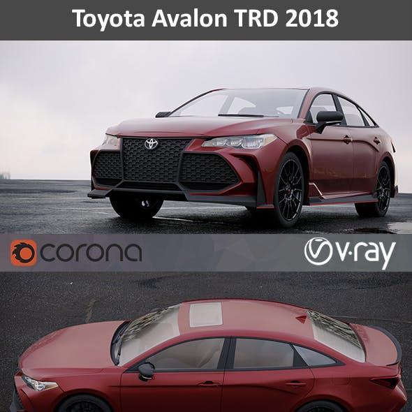 Toyota Avalon TRD 2018