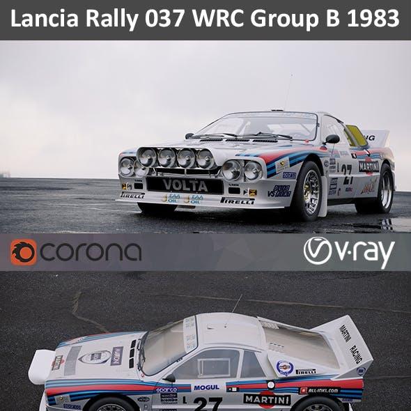 Lancia Rally 037 WRC 1983