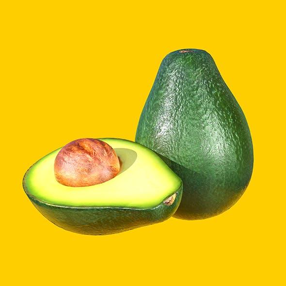 Photorealistic Realtime Avocado