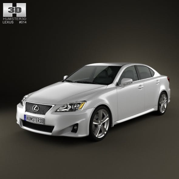 Lexus IS (XE20) 2012 - 3DOcean Item for Sale