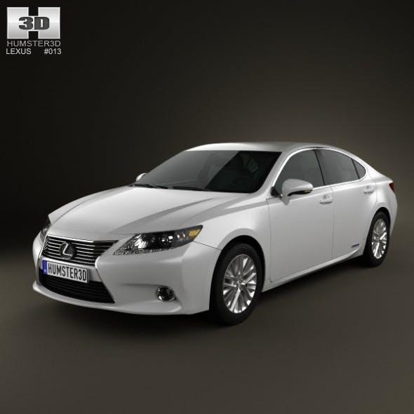 Lexus ES hybrid (XV50) 2013 - 3DOcean Item for Sale