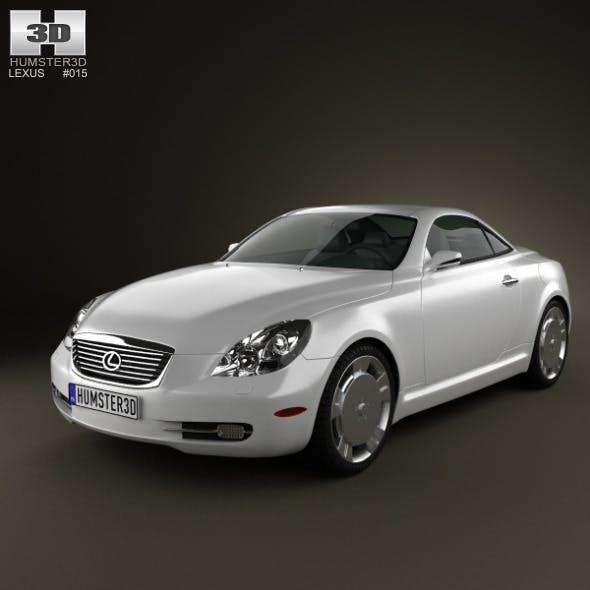 Lexus SC (Z40) 2007 - 3DOcean Item for Sale