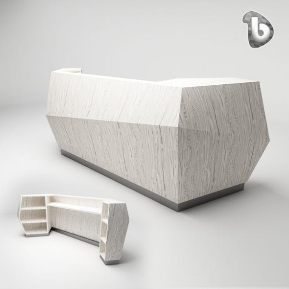 Reception Counter - RC110 - 3DOcean Item for Sale