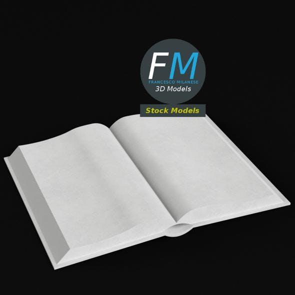 Book open 2 - 3DOcean Item for Sale