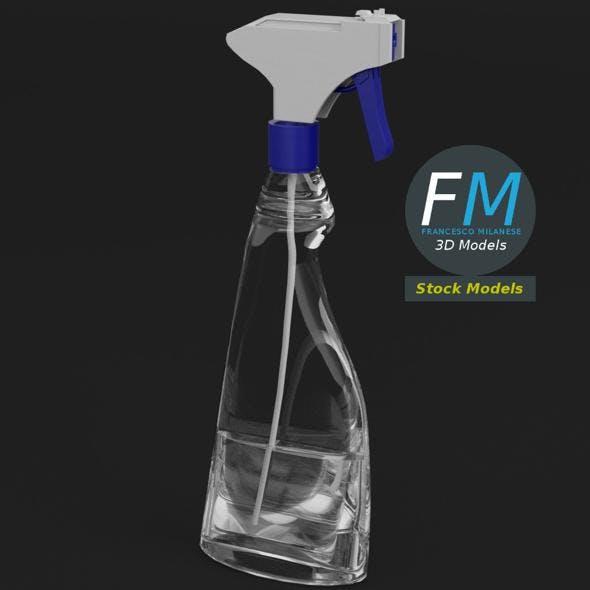 Liquid spray bottle - 3DOcean Item for Sale