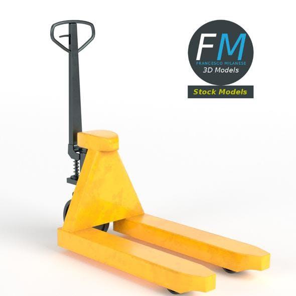 Pallet jack skid lifter - 3DOcean Item for Sale