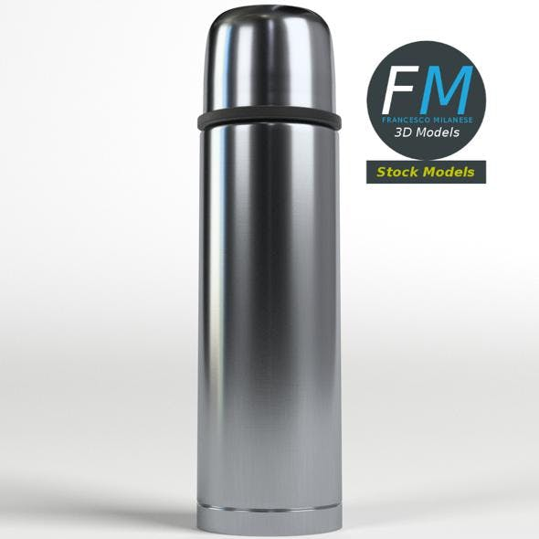 Vacuum flask - 3DOcean Item for Sale