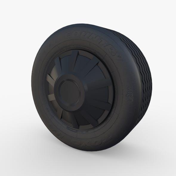 Tesla Truck Wheel 1
