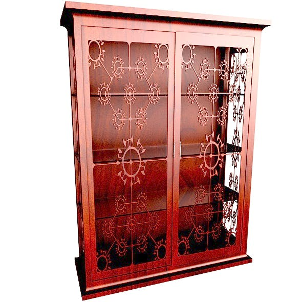 Silver Ware Cabinet - 3DOcean Item for Sale