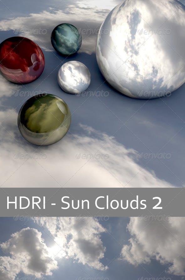 HDRI Sun Clouds 2 - 3DOcean Item for Sale