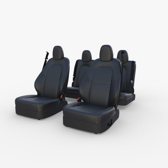Tesla Model Y Seats Dark