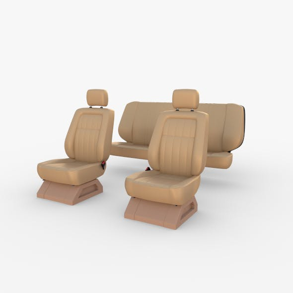 Generic Car Seats Cream